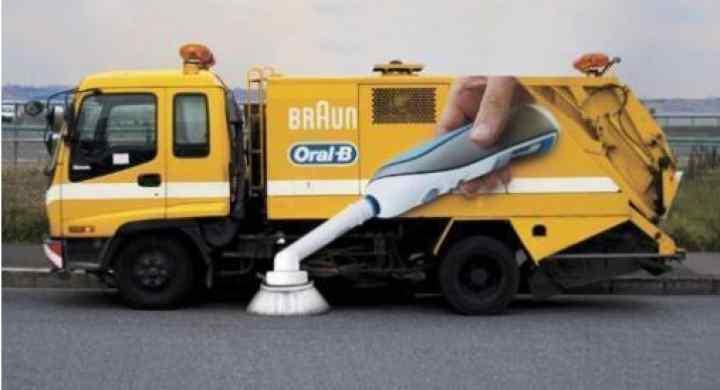 تبلیغات خلاقانه
