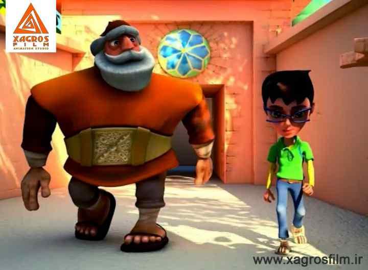 انیمیشن شهر راز